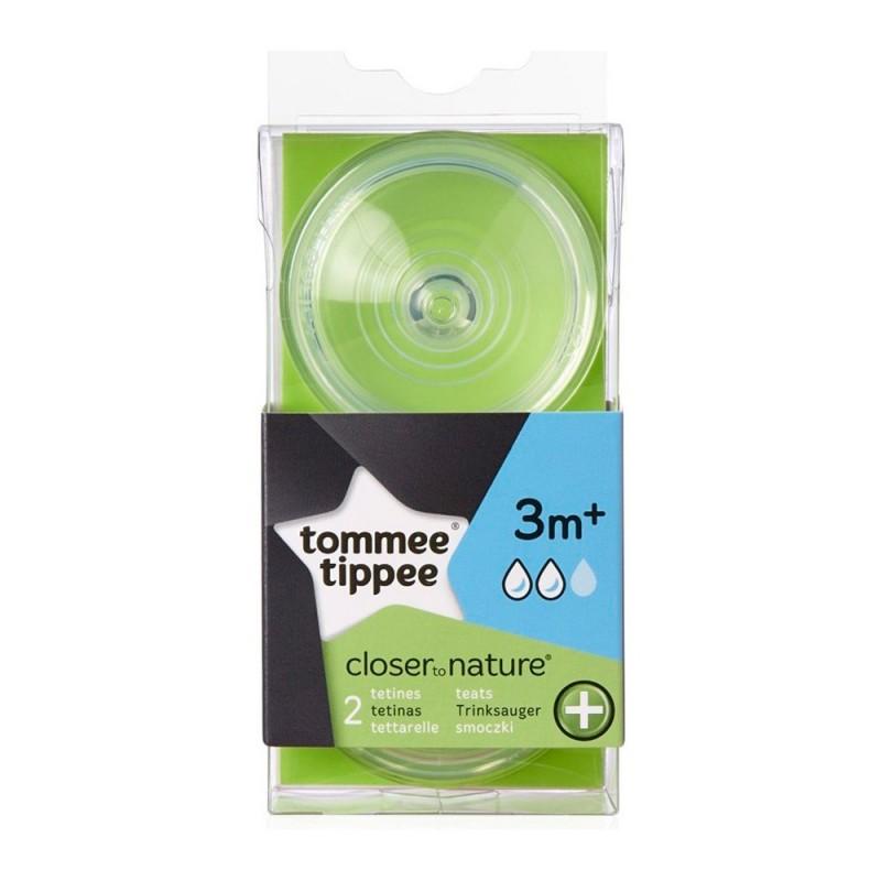Tommee Tippee Tetinas Antic/ólico 0 M+ 2 unidades flujo lento