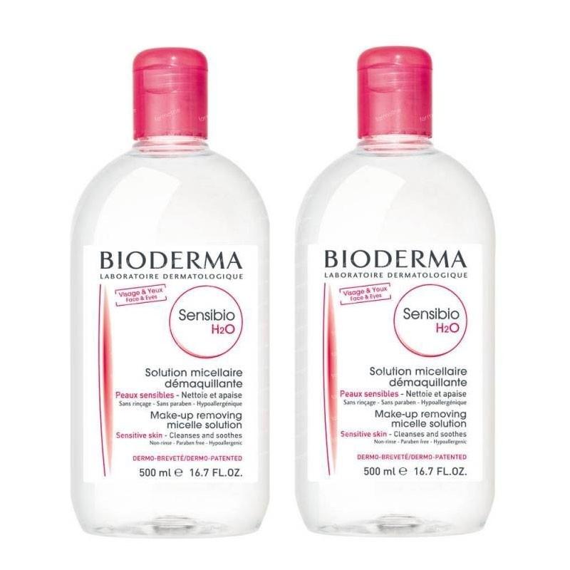 Bioderma sensibio h20 500ml+500ml