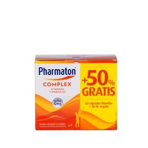 Pharmaton complex 60 capsulas + 30 regalo
