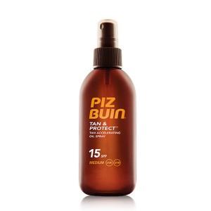 Piz Buin tan & protect aceite spray spf15 150ml